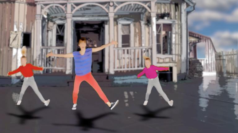 Just dance med Pippi Långstrump