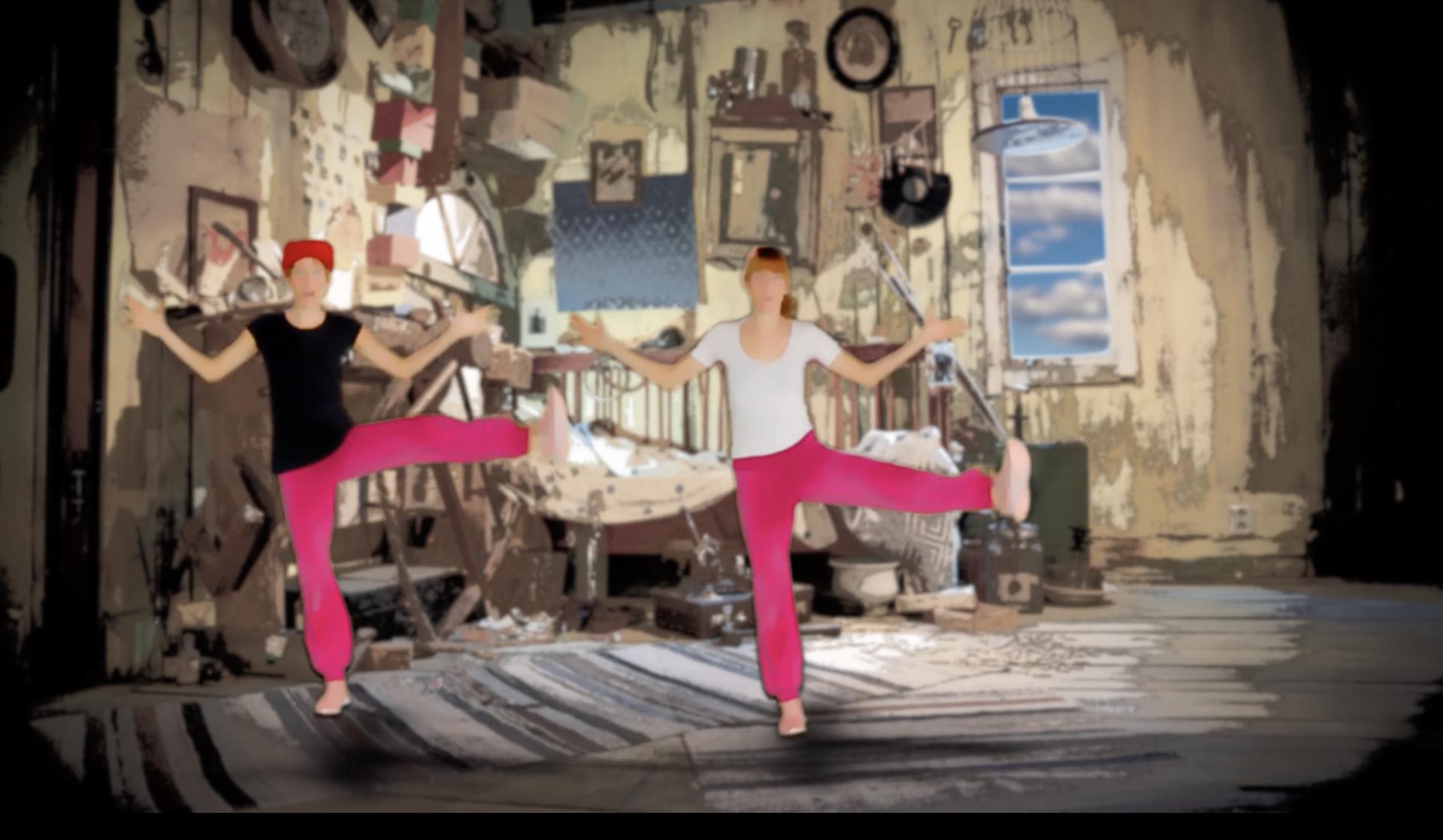 Just dance med Karlsson på taket